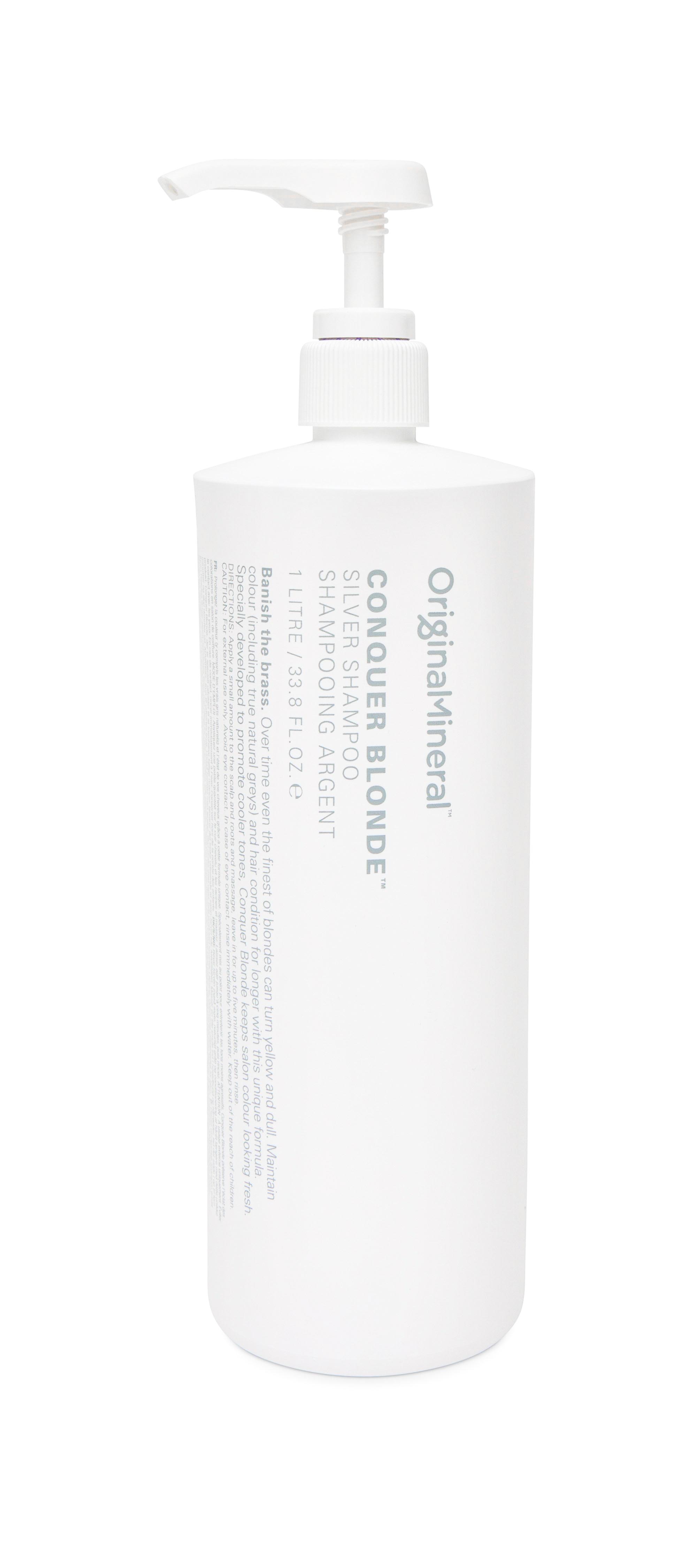 O&M Conquer Blonde Šampon 1L