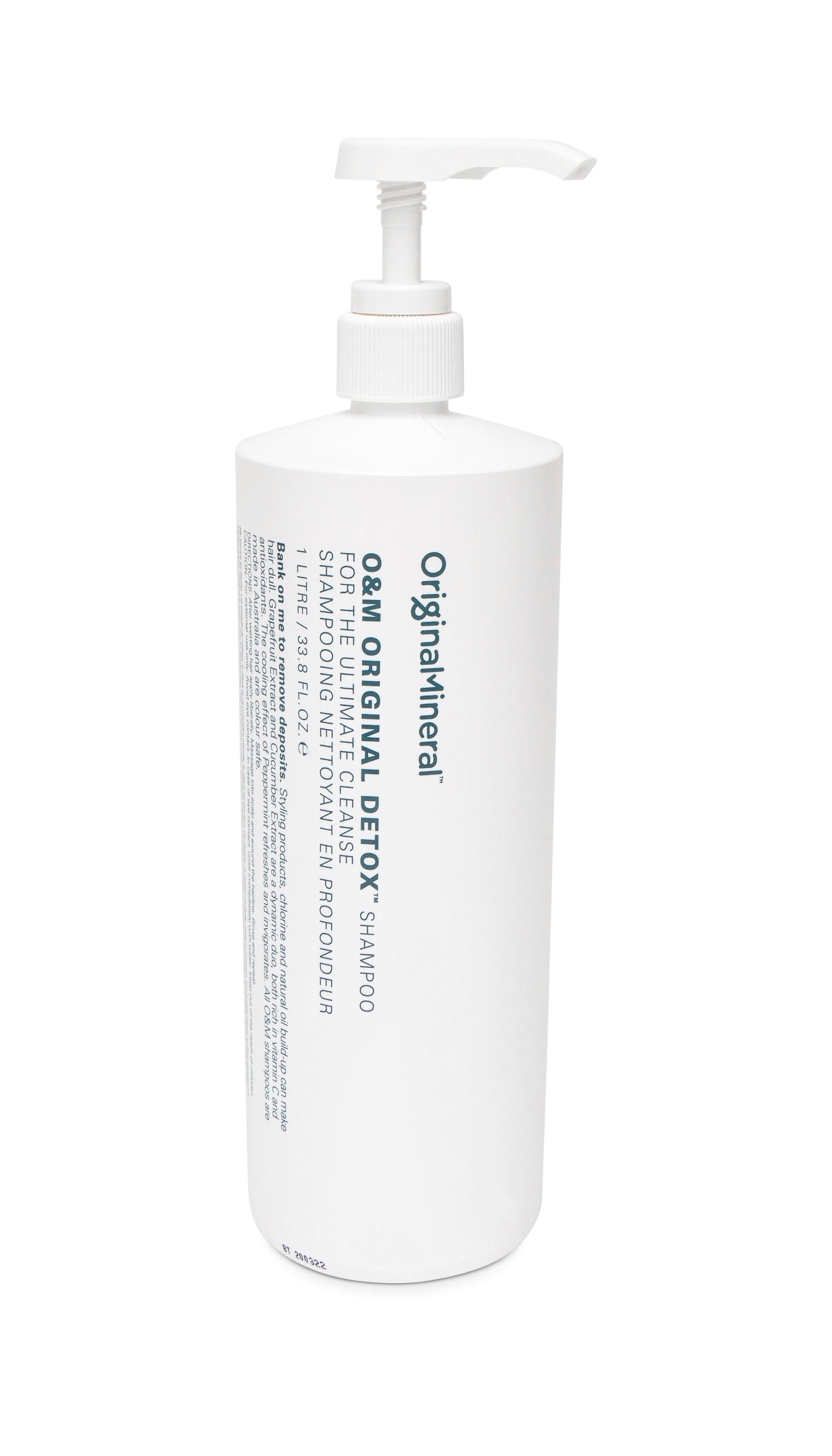 O&M Original Detox Šampon 1L